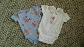 Baby girls vest 6-9
