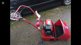Cylinder mower Suffolk punch hardly used supplied by ben burgess