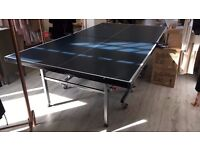 Ping Pong Table with Bats, Net and Ping Pong Balls