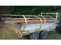 8ft x 4ft twin axle trailer