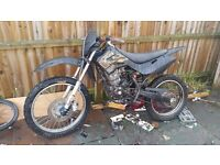 Hi all i have a 125 drit bike for sale have stuff to put back on the road runs and rude fine