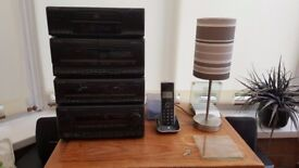 Compact Kenwood Stereo System (Seperates)