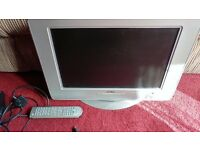 Lcd tv with built in dvd player