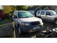 Land rover freelander SPARES OR REPAIRS