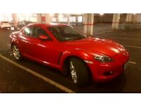 Mazda RX8, 2004, Engine Size 1,308cc,Petrol, Manual, 47.000 miles, Emission Class Euro 4