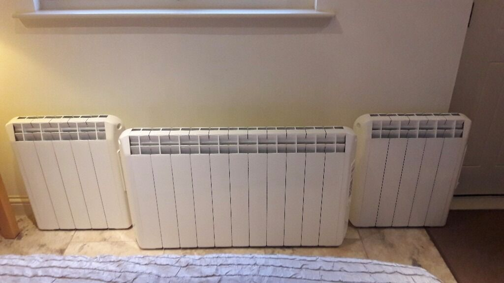 Farho Fuel Efficient Electric Wall Heaters (Brackets Inc) Excellent Condition