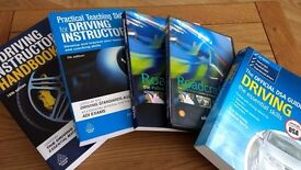 Driving Instructor Training books and DVD