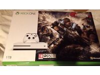 Xbox One S. 1TB. Brand New, Never Been Out Of Box. Gears Of War 4 Included. £250ono. PUO Droylsden