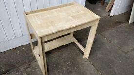 IKEA desk assembled