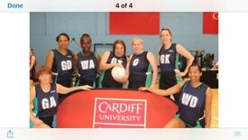 MONDAY NETBALL FOR ADULTS. BEGINNERS WELCOME