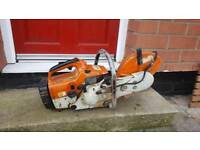Stihl ts400 concrete saw disc cutter full working order with water kit