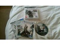 Ps3 game assassins creed lll