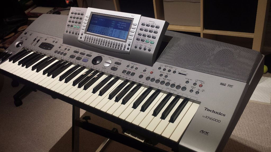 TECHNICS sx kn6000 KN 6000 ELECTRIC KEYBOARD PROFESSIONAL ARRANGER WORKSTATION synthesizerin Brentford, LondonGumtree - TECHNICS sx kn6000 KN 6000 ELECTRIC KEYBOARD PROFESSIONAL ARRANGER WORKSTATION synthesizer In a very good condition looks new ... comes with music note stand I also have a very strong bag