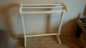 Vintage/ up cycled towel rail