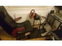 PS4 Xbox ONE PC Racing Simulator Gaming Station