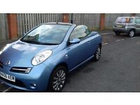 2007 56 nissan micra 1.6 sport cc convertible only 50k miles with service history