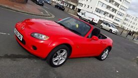 Mazda MX5 1.8i (2006) in red - just 59k miles in EXCELLENT condition