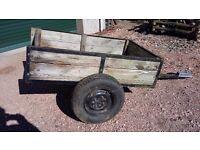 Car trailer 2 wheeler