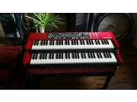 Nord C2 as NEW, amazing hammond organ (upgraded to C2d), wheeled softcase, moonswitch, dust cover