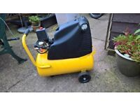 wolf compressor excellent condition portable on wheels