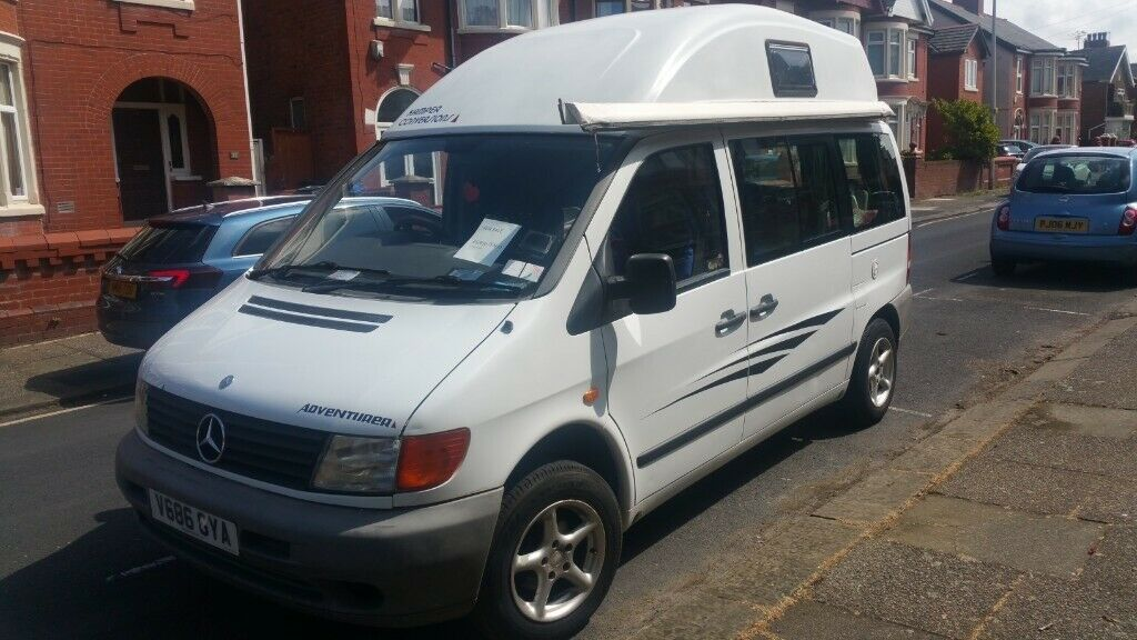 Campervan Mercedes-Benz Vito adventurer 2 2 | in Blackpool, Lancashire |  Gumtree