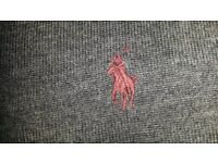 Ralph Lauren Polo Grey Merino Wool Jumper (SMALL) - NEW