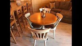 John Lewis table and 4 chairs