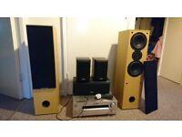 AV receiver + speakers