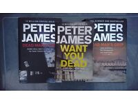 Hardback books peter james bundle