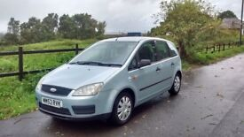Ford Focus C-Max (Silver/Green) Spacious clean vehicle. Good working order. FSH. 2 owners from new.