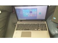 "Toshiba Satellite M50-A-11Q Laptop (Core i3) 8GB ram 1TB Win10 15.6"" screen"