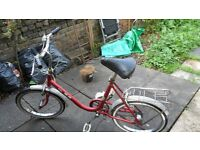 Puch small frame bike