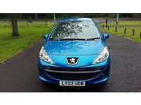Peugeot 207 1.400cc *Two owners from new* 56000 genuine low miles