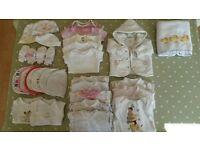 Newborn baby kit bundle - girls