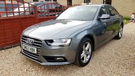 2012 AUDI A4 SE TFSI petrol (170 bhp) 48,000 miles FSH and MINT CONDITION