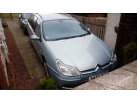 Great Citroen C5 1.6 diesel (110 bhp) HDi VTR Estate. 55 plate. MOT until mid August 2017.