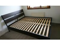 Double Bed Frame Ikea In Edinburgh Double Beds For Sale Gumtree