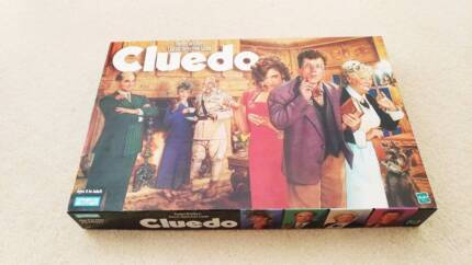 Cluedo Parker Brothers Classic Detective Board Game