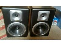 Tapco s8 active studio monitors
