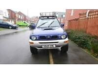 Nissan terrano 2 (off road ready) not defender, discovery, mitsubishi, jeep