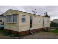 JUST TAKEN IN PART EXCHANGE - PRE-LOVED STATIC CARAVAN IN AMAZING CONDITION ON 12MTH SECLUDED PARK