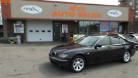 2006 BMW 750I Fully Loaded - Black On Black - Must See This Car!