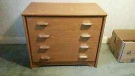 Chest of drawers with 4 drawers. Delivery available