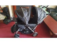 Safety First Duodeal Tandem Pushchair - Black