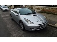 Toyota Celica 1.8vvti, manual. Can swap on automatic