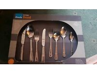Amefa 44 piece fine quality stainless steel cutlery set
