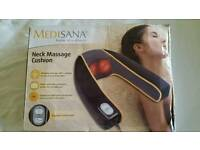 Neck massage cushion.