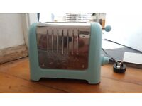 Dualit toaster, baby blue