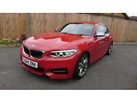 BMW Red M235i - Media & Comfort packs - Major service inc. spark plugs - 35.8k Miles - 1 Prev. Owner
