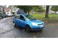 2004 reg Ford fiesta 5 door in stunning blue ,ideal first car ,px welcome